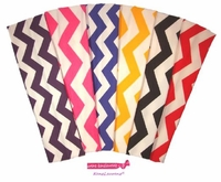 Cotton Headbands 6 Pack Chevron