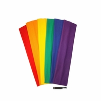 Cotton Headbands 6 Pack Pride!