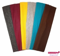 Cotton Headbands 6 Pack Warm