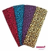 Cotton Headbands Cheetah 4 Pack