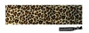 Cotton Stretch Headband Cheetah Brown