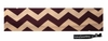 Cotton Stretch Headband Chevron Purple