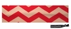 Cotton Stretch Headband Chevron Red