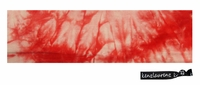 Cotton Stretch Headband Tie Dye Red