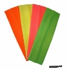 Cotton Stretch Headbands - Neon - 4 Pack