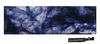 Cotton Stretch Headbands Tie Dye Blue
