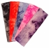 Cotton Stretch Headbands Tie Dye Red