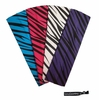 Cotton Stretch Headbands - Zebra - 4 Pack