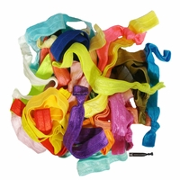 Fold Over Elastic Headbands Mystery Grab Bag Pack of 25