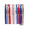 Fourth of July 20 Pack Hair Ties