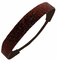 Glitter Headband Brown