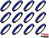 Glitter Headbands 12 Pack Royal Blue