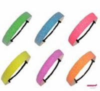 Glitter Headbands 6 Pack Neons