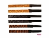 Glitter Headbands Orange and Black Zebra 6 Pack