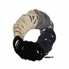Hair Elastics 100 Pack Black Ombre