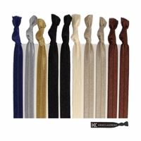 Hair Ties 10 Pack Neutral Tones