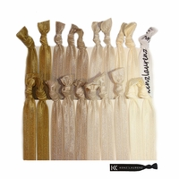 Hair Ties 20 Pack Blonde Ombre