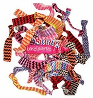 Hair Ties 20 Pack Chevron Assorted