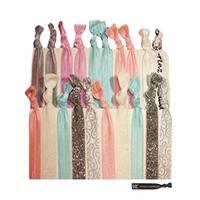 Hair Ties 20 Pack Bridal Shower