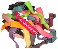 Hair Ties 20 Pack Frosted Glitter Sparkle