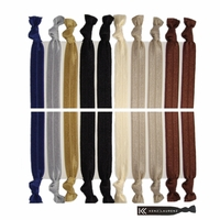 Hair Ties 20 Pack Neutral Tones