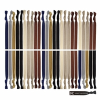 Hair Ties 50 Pack Neutral Tones