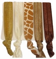 Hair Ties - Giraffe