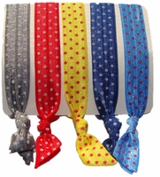 Hair Ties Polka Dots