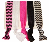 Hair Ties - Zig Zag Party