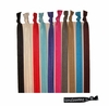 Headbands Fold Over Elastic 10 Pack Assorted