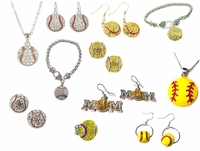 Softball  Fastpitch Baseball Jewelry