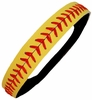 Leather Softball Seam Stitch Headbands