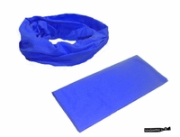Moisture Wicking Headband Blue