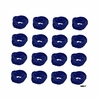 Moisture Wicking Headband Navy 12 Pack