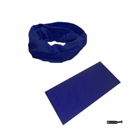Moisture Wicking Headband Navy
