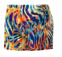 Women's Spandex Shorts - Flames