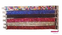 Rhinestone Bracelets 6 Pack Assorted
