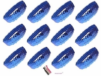 Sequin Headbands 12 Pack Blue