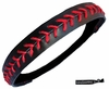 Softball Headband Black/Red