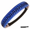 Softball Headband Blue/Black