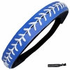 Softball Headband Blue/White