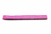Softball Headband Hot Pink/White