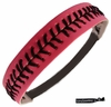 Softball Headband Pink/Black