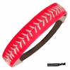 Softball Headband Pink/White