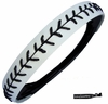 Softball Headband White/Black