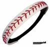 Softball Headband White/Red