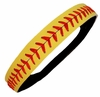Softball Headband Yellow/Red
