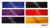 Softball Poly-Lycra Headbands Assorted Pack of 6
