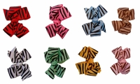 Spirit Hair Bows Zebra Set 8