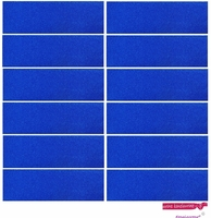 Sweatbands 12 Pack Blue